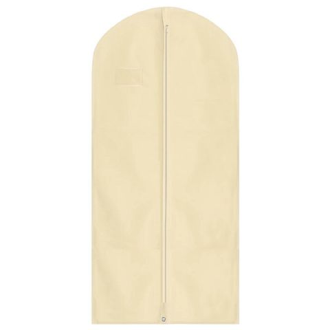 Barley Cream Long Dress Coat Garment Cover Bag